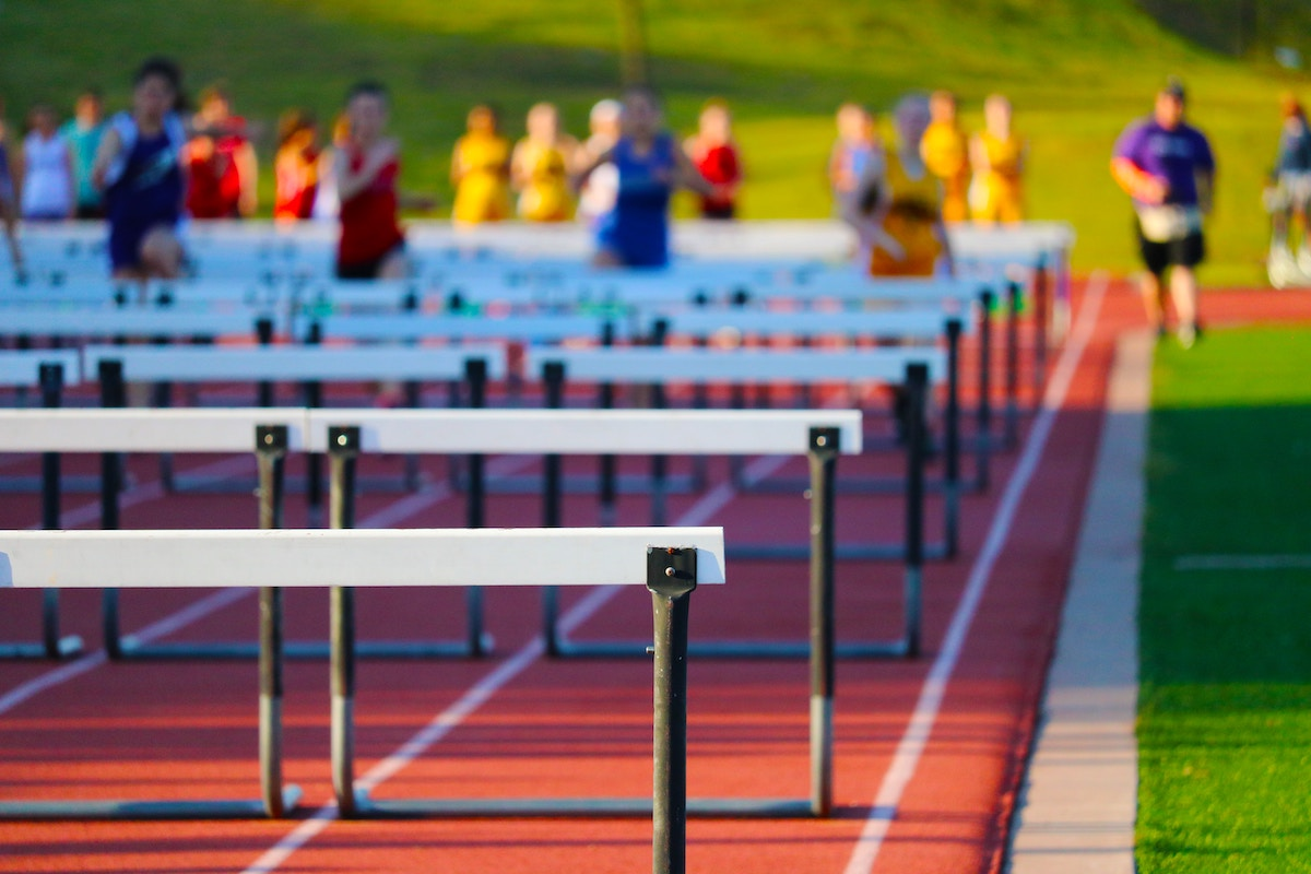 Hurdles blurred