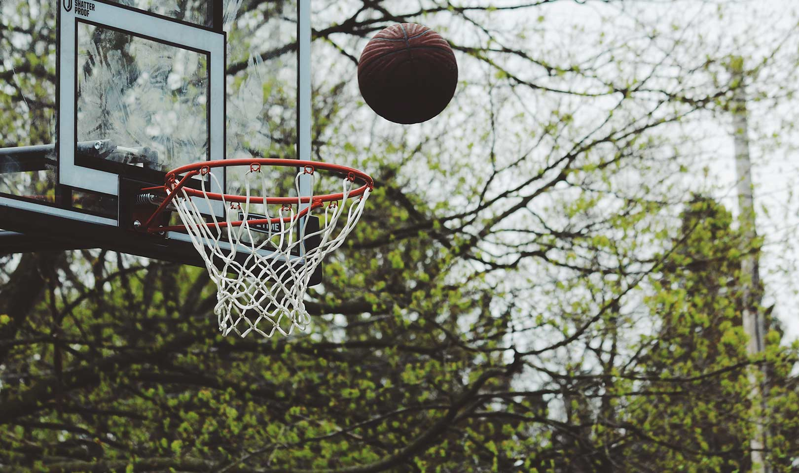 Basketball shot.