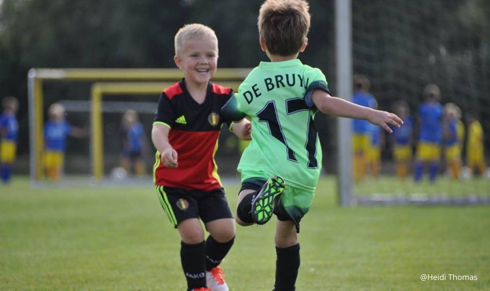 dribbling football belgium